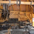 Stock Photo: Old carpentry workshop
