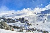 Andorra mountains view — Stock Photo
