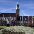 The Town Hall in Hoogeveen — Stock Photo