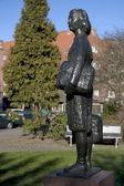 Estatua de ana frank — Foto de Stock