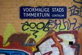 Graffiti na parede — Foto Stock