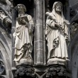 Stock Photo: Statues of Aachen Cathedral