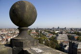 Views from the Westerkerk in Amsterdam — Stock Photo