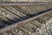 Railway Auschwitz — Stock Photo