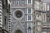Detail of the Duomo in Florence — Stock Photo