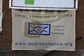 Bandeira da fundação de andreas maná — Foto Stock
