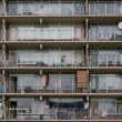 Detail of highrise in Zoetermeer — Stock Photo #16918565