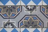 Tiles of a house in Spakenburg — Stock Photo