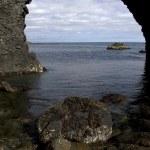 Rock lump Dyrh�laey — Stock Photo #16921529
