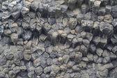 Bloques de basalto, islandia — Foto de Stock