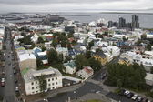 View of Reykjav�k, Iceland — Stock Photo