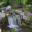 Waterfall in park Klarenbeek in Arnhem, Netherlands — Stock Photo #17466321