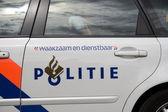 Police car in Amsterdam, Netherlands — Stock Photo