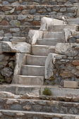 Stairs antique theater, Ephesus, Turkey — Stock Photo