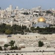 Look at Jerusalem from Mount of Olives, Israel — Stock Photo #18599091