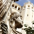 Statue of King David in Jerusalem, Israel — Stock Photo