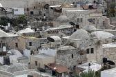 Slum dwellings in Jerusalem, Israel — Stock Photo