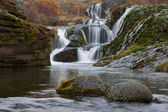River with waterfall in Iceland — Stock Photo