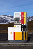 Fuel pump in Iceland — Stockfoto