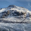 Mountain glacier Vatnajukull in Iceland — 图库照片