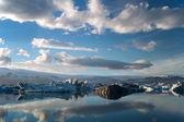 Glacial lake — Stock Photo