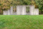 Ricostruzione di baracca penale a westerbork accampamento di concentrazione, paesi bassi — Foto Stock
