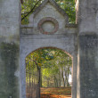 Output of the Jewish Cemetery in Elburg, Netherlands — Foto Stock