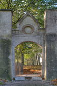 Output of the Jewish Cemetery in Elburg, Netherlands — Stock Photo