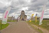 Photo event around Radio Kootwijk in Netherlands — Stock Photo