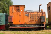 Erica, Netherlands - July 20, 2014: Railroad museum in Erica, Netherlands — Stock Photo
