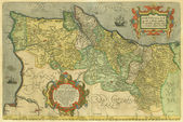Old map of Portugal — Stock fotografie