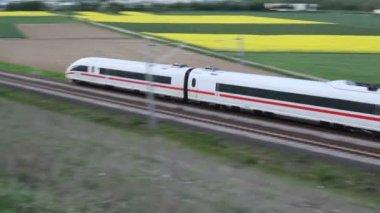 German ICE train — Stock Video