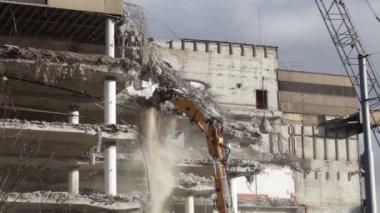 Demolition — Stock Video