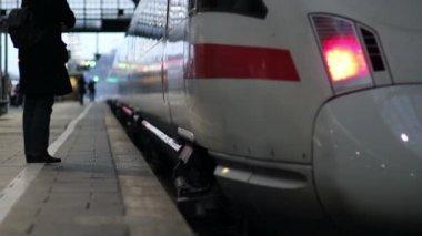 ICE train — Стоковое видео