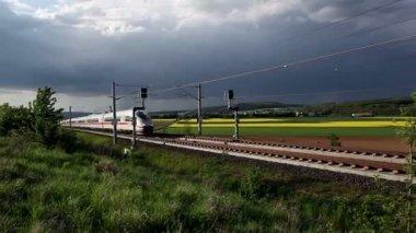 Highspeed train — Stock Video