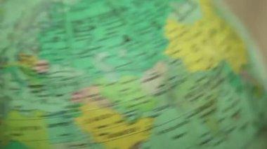 Spinning globe — Stock Video