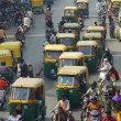 Traffic on streets of India — Stock Photo #35873511