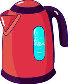 Electric kettle — Stock Vector