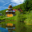 The Church in the Carpathians — Stock Photo #14345553