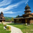 Church in the Carpathians — Stock Photo #14345575