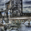 HDR image of am old run down shipping terminal — Stock Photo #14306727