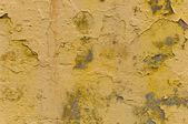 желтый грубой окрашенные бетонная стена — Стоковое фото