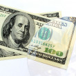 Royalty-Free Stock Photo: Dollar in  focus