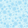 Royalty-Free Stock Vector Image: Seamless snowflakes background for winter and christmas theme