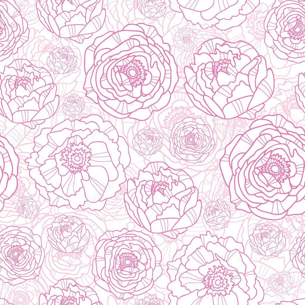 розовый цветочный фон клипарты бесплатный клипарт