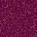 Abstract Swirl Plants Seamless Pattern Background — Stock Photo