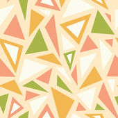 Abstract triangles seamless pattern background — Stock Vector
