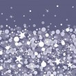 Royalty-Free Stock Векторное изображение: Silver sparkles horizontal seamless pattern background
