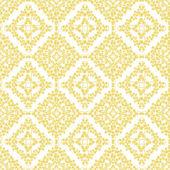 Abstract yellow swirls seamless pattern background — Stock Vector