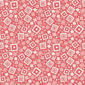 Geometrische quadrate texture hintergrundmuster nahtlose — Stockvektor